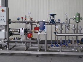 Parte impianto per produzione acqua calda
