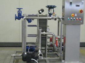 Scambiatore per riscaldamento vino con vapore